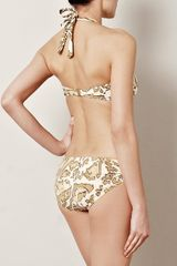 Zimmermann Animale Savannah Bikini in Beige - Lyst