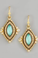 Armenta  Turquoise Drop Earrings - Lyst