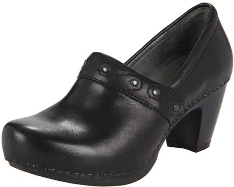 Dansko Dansko Womens Riki Clog in Black