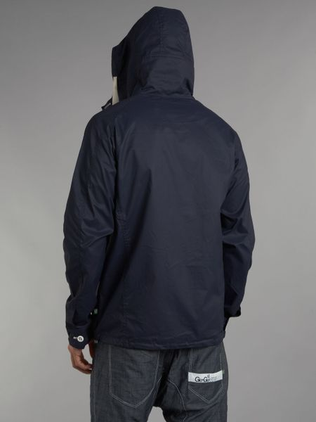 Gio Goi Hiking Jacket In Blue For Men Navy Lyst