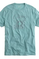J.Crew Clipper Graphic Tee - Lyst
