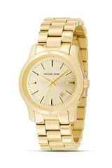 Michael Kors Michael Round Goldtone Watch 38mm - Lyst