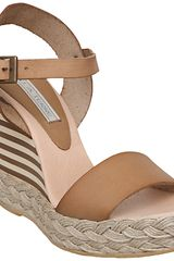 Pied A Terre Pied A Terre Leola Leather Sandals - Lyst