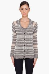 Rag & Bone Striped Caterina Cardigan - Lyst