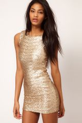 Tfnc Tfnc Sequin Dress Sleeveless - Lyst