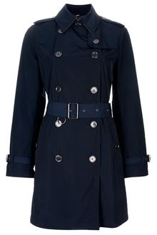 Burberry Brit Trench Coat - Lyst