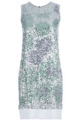 Diane Von Furstenberg Sequin Dress - Lyst