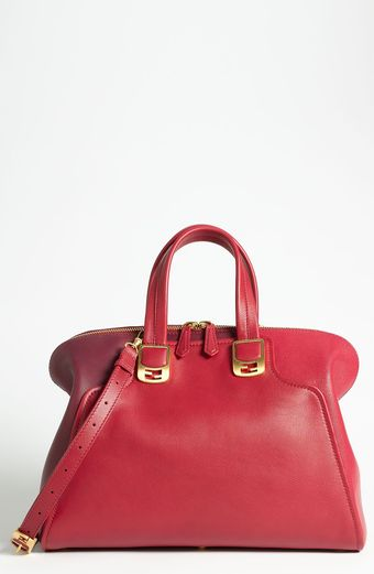 Fendi Chameleon Colorblock Leather Tote - Lyst