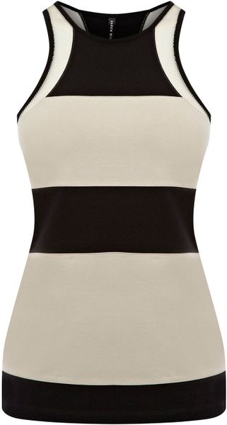 Karen Millen New Essential Vest in Black (multi-coloured) - Lyst