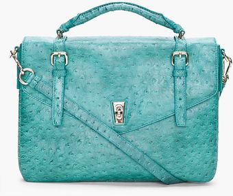 Marc By Marc Jacobs Green Intergalocktic Messenger Bag - Lyst