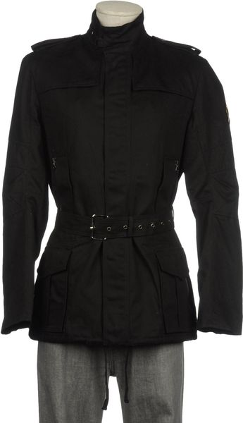 Markus Lupfer Midlength Jacket in Black for Men - Lyst