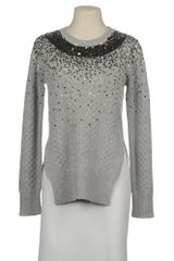 Markus Lupfer Long Sleeve Jumper in Gray (grey) - Lyst