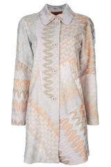 Missoni Paterned Coat