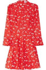 Sonia By Sonia Rykiel Floralprint Cotton Mini Dress