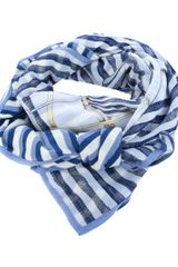 Swash Striped Scarf - Lyst