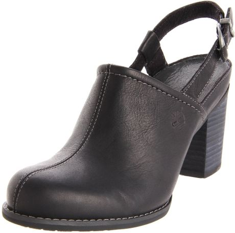 Timberland Timberland Womens Rudston Clog in Black - Lyst