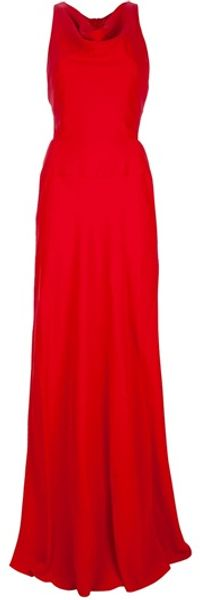 Valentino Maxi Dress - Lyst