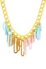 Asos  Mixed Media Pastel Necklace