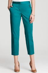 DKNY C Skinny Cropped Pants with Zipper - Lyst