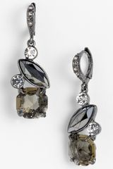 Givenchy Mojave Small Crystal Drop Earrings - Lyst