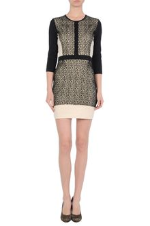Markus Lupfer Short Dress - Lyst