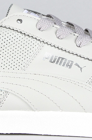 4620bdeef290 Lyst - PUMA The Roma Lp Sneaker in Flint Grey White in Gray for Men