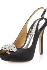 Badgley Mischka Gilroy Slingback Pump Black - Lyst