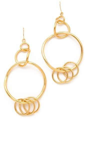 Belle Noel Chandelier Hoop Earrings - Lyst