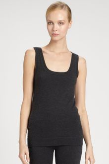 Donna Karan New York First Layer Stretch Cashmere Top - Lyst