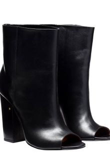 Laurence Dacade Leather Peeptoe Boots - Lyst