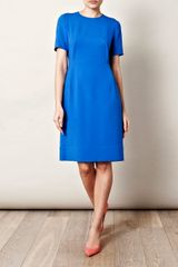 Stella Mccartney Ridley Dress in Blue (cobalt) - Lyst