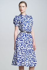 Carolina Herrera Gasparprint Shirtdress - Lyst