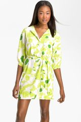 Diane Von Furstenberg Juliette Print Silk Dress - Lyst