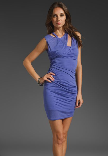 Elizabeth And James Brynn Dress in Blue (hyacinth) - Lyst