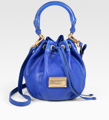 Marc By Marc Jacobs D2 Classic Pixie Drawstring Bag in Blue - Lyst