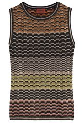 Missoni Lurex Tank Top - Lyst
