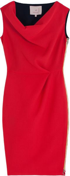Roksanda Ilincic Amu Wool Dress - Lyst
