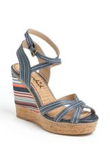 Splendid Kayla Wedge Sandal - Lyst