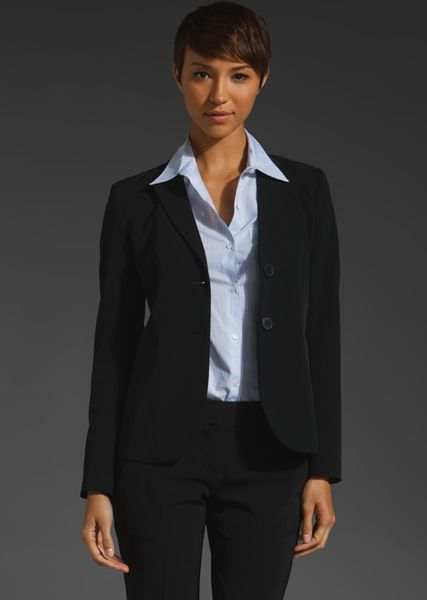 Theory Zaylin Priceless Blazer in Black - Lyst