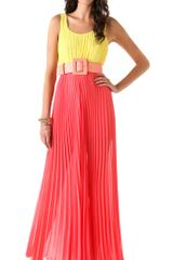 Alice + Olivia Leila Pleated Jumpsuit - Lyst