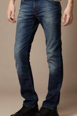 Burberry Steadman Stonewash Slim Fit Jeans - Lyst