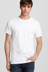 Calvin Klein Slim Fit Crewneck Undershirt 3pack - Lyst