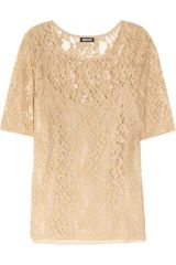 DKNY Lace Top - Lyst
