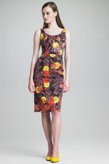 Erdem Edith Fitted Tank Dress - Lyst