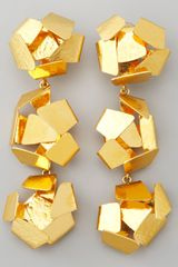 Herve Van Der Straeten Explosiveball Drop Clip Earrings - Lyst