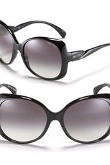 Jimmy Choo Dahlia Twist Temple Sunglasses - Lyst