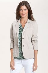 Lafayette 148 New York Paolo Stretch Twill Jacket - Lyst