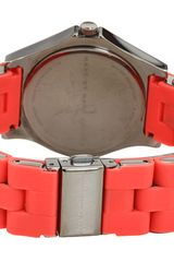 Marc By Marc Jacobs Pelly Watch in Red (f) - Lyst