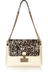 Marc Jacobs Safari Xl Calf Hair and Leather Shoulder Bag - Lyst