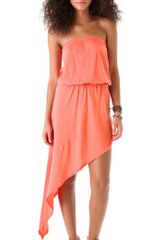 Nightcap Sunset Strapless Dress - Lyst